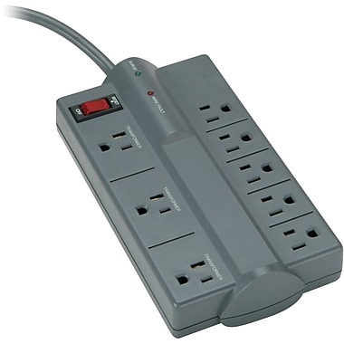 Kensington® Guardian 8-Outlet 882 Joule Premium Surge Suppressor With 6' Cord