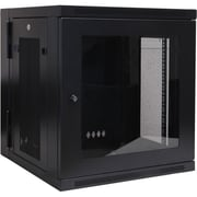 Tripp Lite SRW12USG 12U Wall Mount Rack Enclosure Server Cabinet With Plexiglass Door, Black