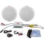 "Pyle® PLMRKT2A 6 1/2"" 100 W Marine Speaker System"