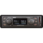 Pyle® PLR16MUA In-Dash AM/FM-MPX MP3 Car Flash Audio Player With USB/SD Card, Black