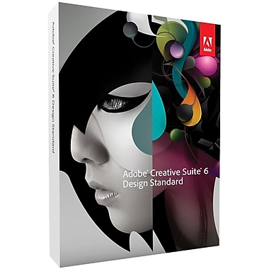 Adobe® 65163194 Creative Suite® v.6.0 (CS6) Design Standard Software