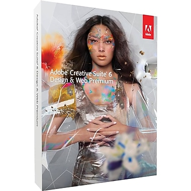 Adobe® 65176928 Creative Suite® v.6.0 (CS6) Design & Web Premium Software