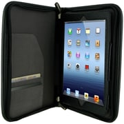 rOOCASE Executive Portfolio Leather Case Cover For Apple iPad Mini, Black