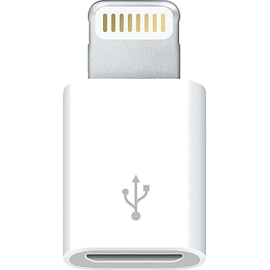 Apple® Lightning to Micro USB Adapter