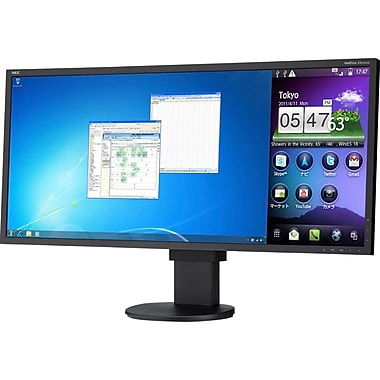NEC MultiSync 29in. Widescreen LED LCD Desktop Monitor, Black