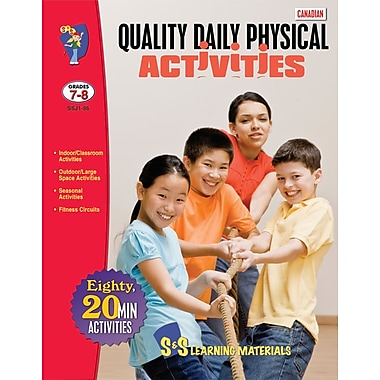 Canadian Quality Daily Physical Activities, Grades 7-8