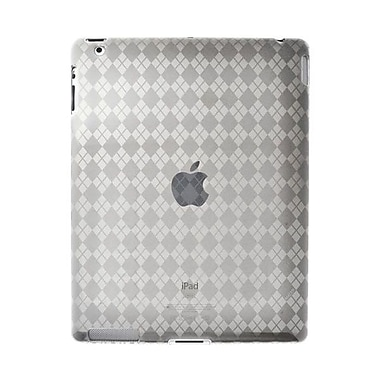 Amzer® Luxe Argyle Highgloss TPU Case ForiPad 2, Clear