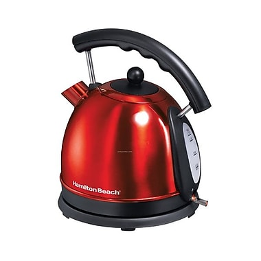Hamilton Beach® 10 Cup Electric Kettle, Candy Apple