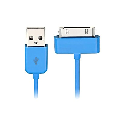 4XEM™ 3' 30-Pin to A Male USB 2.0 Cables For iPhone/iPod/iPad