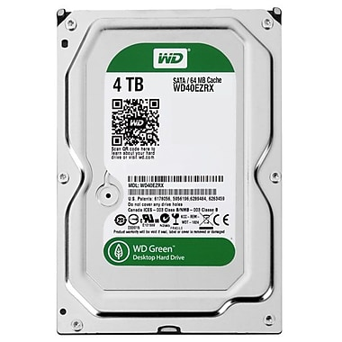 WD® 4TB 3 1/2in. Desktop Internal Hard Drive (Green)