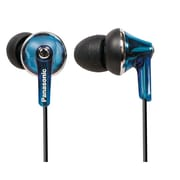 Panasonic® RP-TCM190 3.94' Stereo Earbud Headphone, Blue