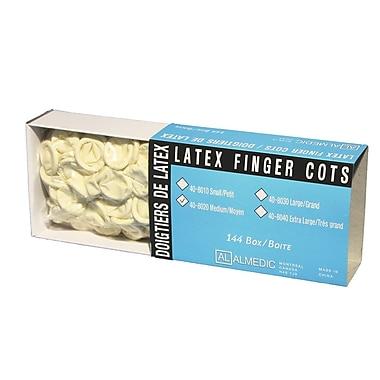 Latex Finger Cot Bandage, Medium, 864/Pack