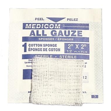 Sterile Gauze Pads, 2