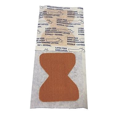 Pansements adhésifs en tissu pour le bout des doigts, 1 3/4 x 3 po, 5000/boîte