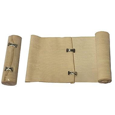 Bandage élastique renforcé, 6 po x 5 verges, 12/paquet