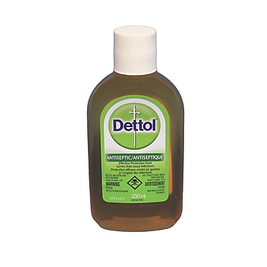 Dettol Antiseptic and Disinfectant, 250 ml, 2/Pack