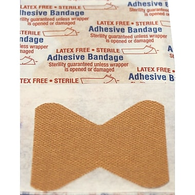 Fabric Adhesive Fingertip Bandages, 1-3/4