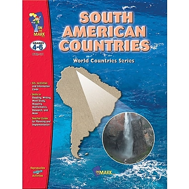 South American Countries, Grades 4-6