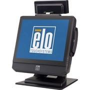 Elo B2 Rev.B 15 All-In-One Desktop Touchcomputers, Dark Gray