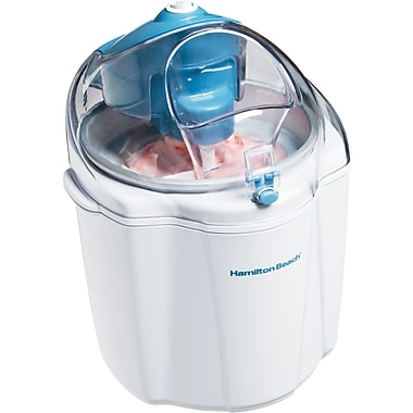 Hamilton Beach® 1.5 qt Ice Cream Maker, White