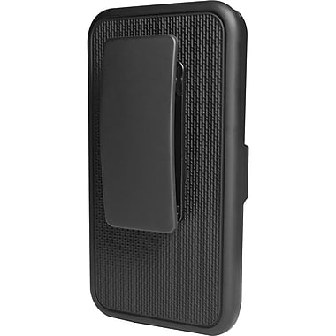 Puregear® Case With Kickstand and Holster For iPhone 4/4S, Black