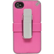 Puregear® Utilitarian™ Smartphone Support System Case For iPhone 4/4S, Pink