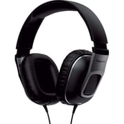 Panasonic® Street Band Monitor Headphones With Remote, Gunmetal Gray/Black
