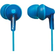 Panasonic® RP-TCM125 3.61' Stereo Earbud Headphone, Blue