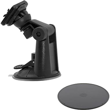 Tridentcase™ Robust Suction Mount With Adhesive Mounting Disk For Tablet PC/Smartphone, Black