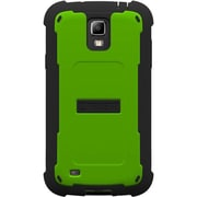 Trident™ Cyclops Series™ Smartphone Case For Samsung Galaxy IV Active, Green/Black