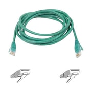 Belkin™ 8' 900 Series Cat6 RJ45/RJ45 Snagless Duplex Patch Cable, Green