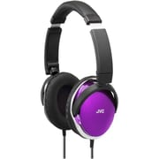 JVC® HAS660 3.94' Lightweight Stereo Around Ear Headphone, Purple