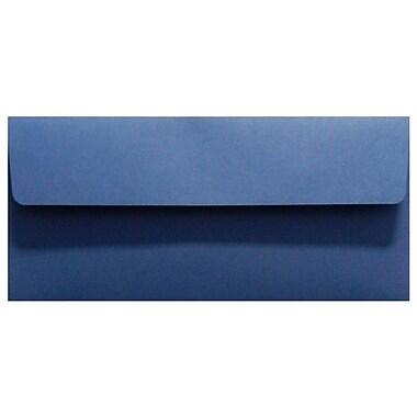 LUX Peel & Press #10 Square Flap Invitation Envelopes (4 1/8 x 9 1/2) 250/Box, Navy Blue (LUX-4860-103-25)