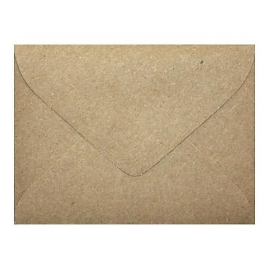 LUX #17 Mini Envelope (2 11/16 x 3 11/16) 500/Box, Grocery Bag (LEVC-GB-500)