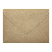 "LUX® 70lbs. 2 11/16"" x 3 11/16"" #17 Mini Envelopes, Grocery Bag Brown, 250/BX"