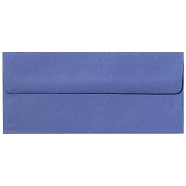 LUX Peel & Press #10 Square Flap Envelopes (4 1/8 x 9 1/2) 500/Box, Boardwalk Blue (EX4860-23-500)
