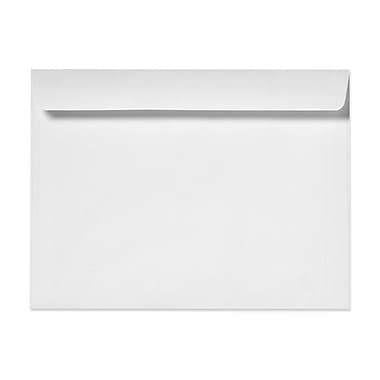 LUX® 24lbs. 10in. x 13in. Booklet Recycled Paper Envelope, White, 1000/BX