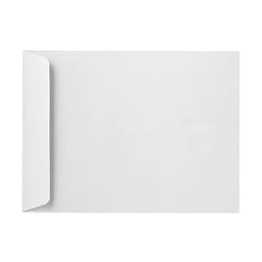 LUX® 28lbs. 11in. x 17in. Open End Flap Jumbo Envelopes, Bright White, 250/BX