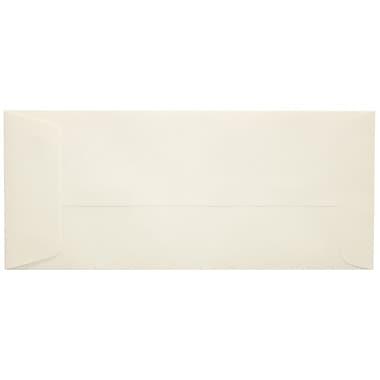LUX Peel & Press #10 Open End Envelopes (4 1/8 x 9 1/2) 500/Box, 70lb. Natural (7716-N-500)