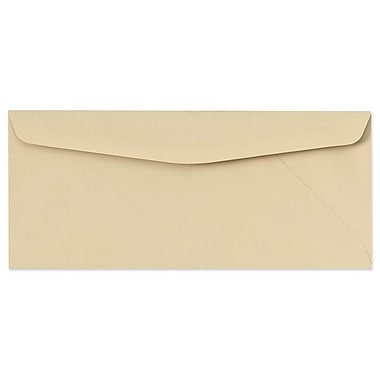 LUX Moistenable Glue - #10 Regular Envelopes (4 1/8 x 9 1/2) - 250/Box - Tan (65938-250)