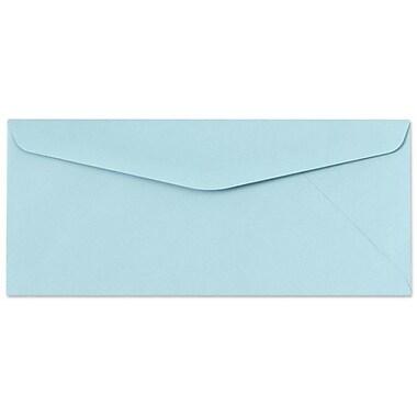 LUX Moistenable Glue #10 Regular Envelopes (4 1/8 x 9 1/2) 250/Box, Pastel Blue (65888-250)