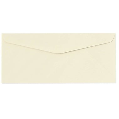 LUX Moistenable Glue - #9 Regular Envelopes (3 7/8 x 8 7/8) - 500/Box - Natural (5850-01-500)