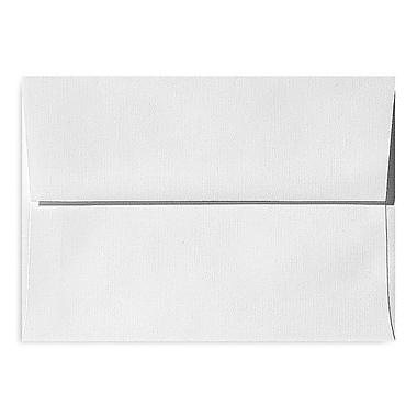 LUX A1 Invitation Envelopes (3 5/8 x 5 1/8) 500/Box, White Linen (4865-WLI-500)