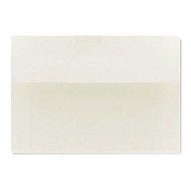 LUX A1 Invitation Envelopes (3 5/8 x 5 1/8) 500/Box, Natural White - 100% Cotton (4865-SN-500)
