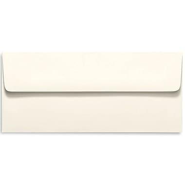 LUX Peel & Press - #10 Square Flap Envelopes (4 1/8 x 9 1/2) - 500/Box - Natural - 100% Recycled (4860-NPC-500)