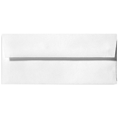 LUX Moistenable Glue #9 Regular Envelopes (3 7/8 x 8 7/8) 500/Box, White Linen (4855-WLI-500)
