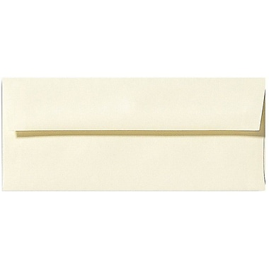 LUX Moistenable Glue #9 Regular Envelopes (3 7/8 x 8 7/8) 250/Box, Natural Linen (4855-NLI-250)
