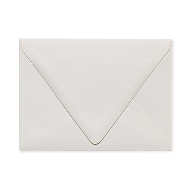 LUX A6 Contour Flap Envelopes (4 3/4 x 6 1/2) 250/Box, Natural - 100% Recycled (1875-NPC-250)