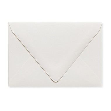 LUX A1 Contour Flap Envelopes (3 5/8 x 5 1/8) 250/Box, Natural - 100% Recycled (1865-NPC-250)