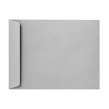 LUX® 28lbs. 10in. x 13in. Open End Envelopes, Gray Kraft, 500/BX